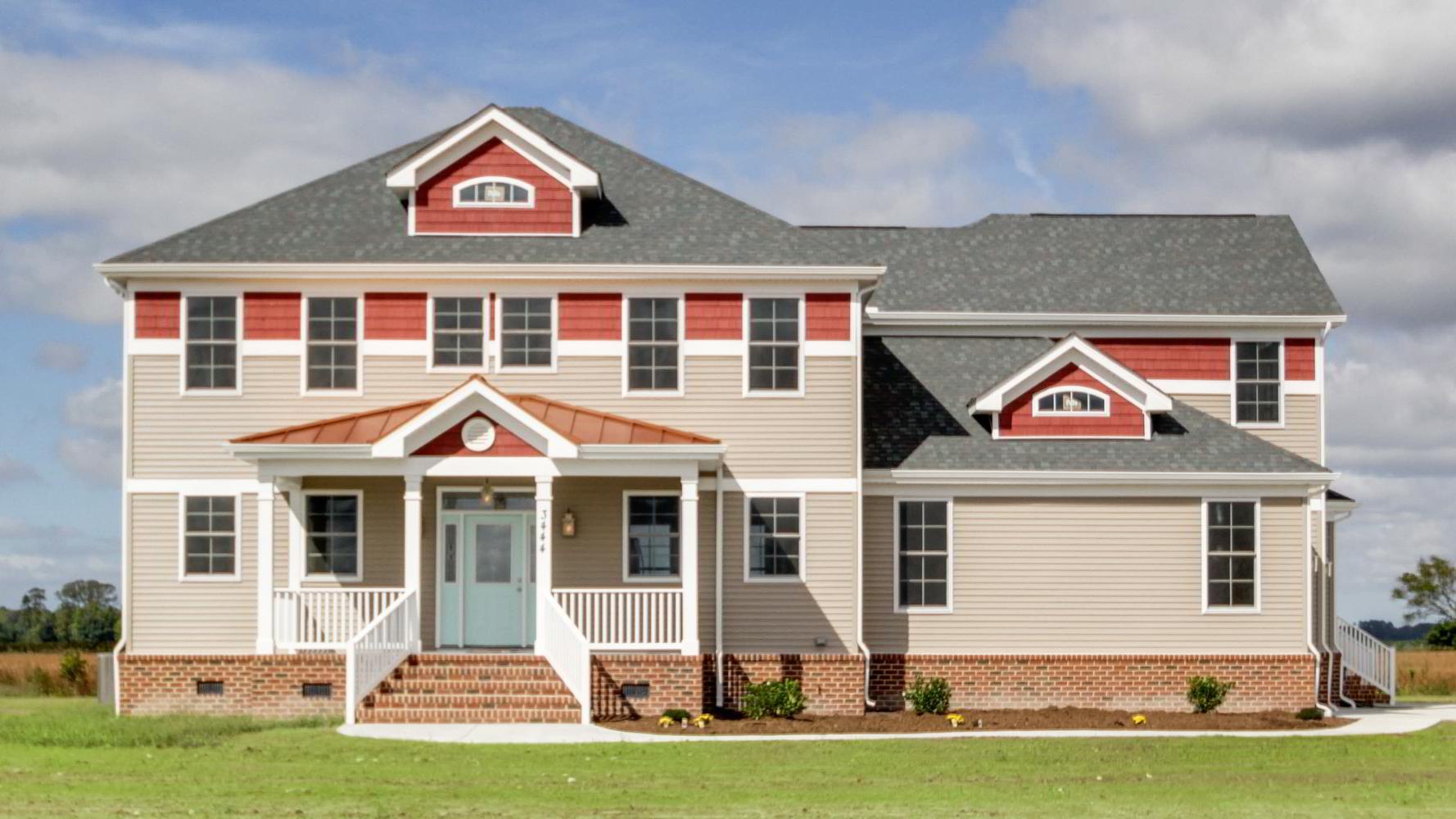 Virginia Beach model home built by Duane Cotton